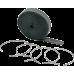 Banda izolare termica negru 25mm x 15,2m